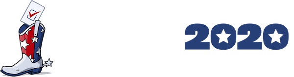 The Texas 2020 Voter Guide Logo